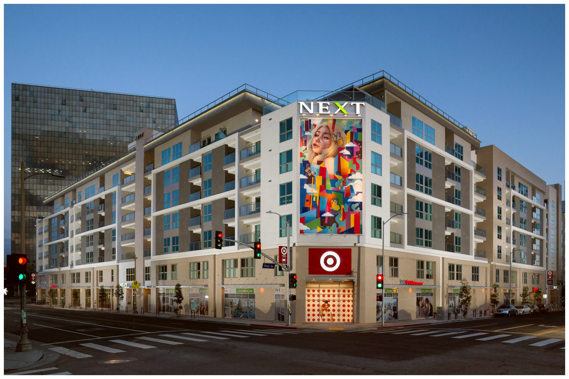 NEXT ON SIXTH - KOREA TOWN399 Upscale Residential units and 42,600 SF of retail space. Media Systems provided:Public Safety DAS (ERRCS)Commercial Cellular DAS Common Area WiFiCommon Area AV3×3 Video Wall DisplayApartment Audio System in all Penthouse units.