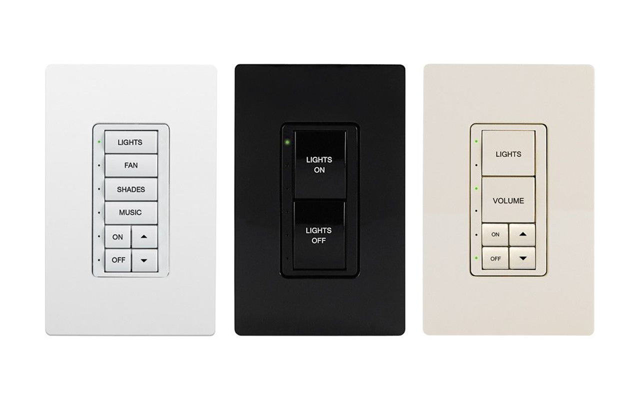 CRESTRON INTEGRATIONCustom configured keypads will conform to any interior design concept and custom engraved buttons will allow labeling for control of all shade, lighting and even audio control.